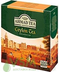Ahmad Цейлонский черный 100 пак (1 шт) - основное фото