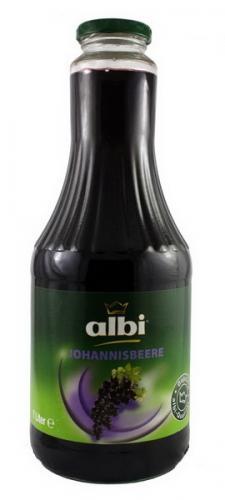 Напиток Albi/Алби Черносмородиновый 1 л. стекло (6 шт.) - основное фото