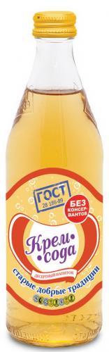 Старые добрые традиции лимонад Крем-Сода 0,5л. ст. (12 бут.) - основное фото