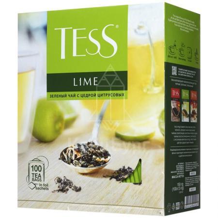 Tess Lime (Тесс Лайм) 100 пак. по 1,5г  - основное фото