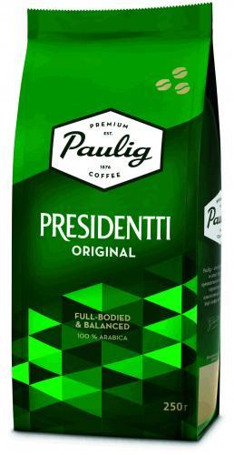Paulig President в зернах 250 гр. (1шт.) - основное фото
