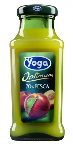 Yoga/Йога Персик 0.2 л. (24 бут.) стекло - основное фото