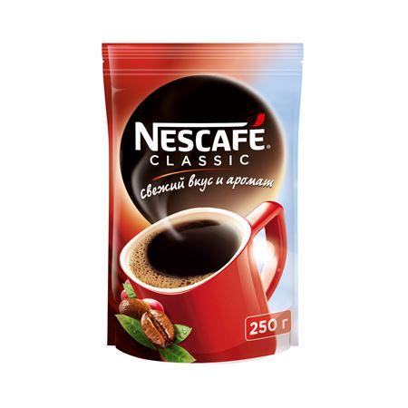 Nescafe Classic растворимый 250 гр (1шт) - основное фото