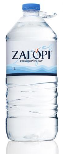 Вода Zagori(Загори) 5 л б/г ПЭТ (2 бут.) - основное фото