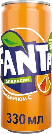 Fanta / Фанта 0,33л. (12 бан.) - основное фото