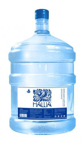 Вода питьевая Наша 19 литров - основное фото