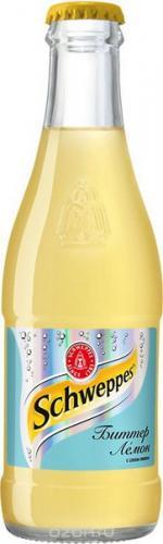 Швеппс / Schweppes Bitter Lemon 0,25л. (12 шт.) стекло - основное фото