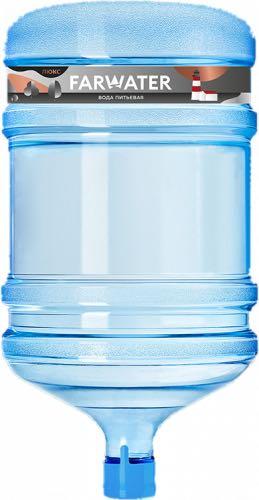 Фарватер Люкс питьевая вода высшей категории, 18,9л - основное фото