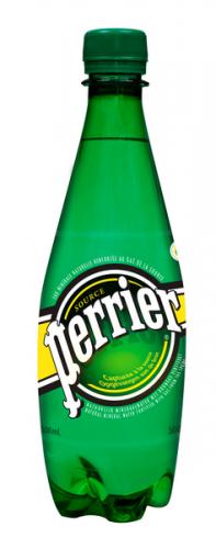 Перье / Perrier 0,5 л. газированная (24 шт) ПЭТ - основное фото