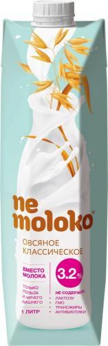 Nemoloko овсяный классический напиток 1л. 12шт. - основное фото