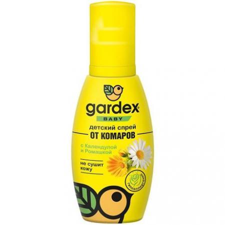 Спрей детский от комаров GARDEX Baby, 75мл - основное фото