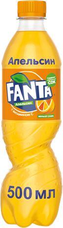 Fanta / Фанта 0,5л. (24 бут.) - основное фото