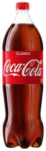 Coca-Сola / Кока-Кола 1,5л (9 шт.) - основное фото