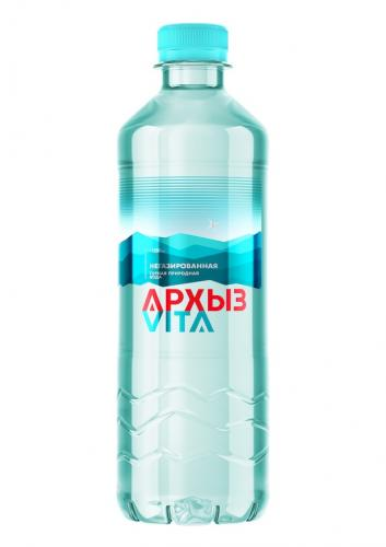 Архыз VITA 0,5 л. без газа (12 бут) - основное фото
