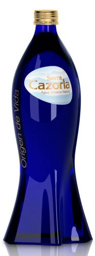 Sierra Cazorla Siluette/Сьерра Казорла Силуэт 0.75 л. без газа (12 шт)  - основное фото