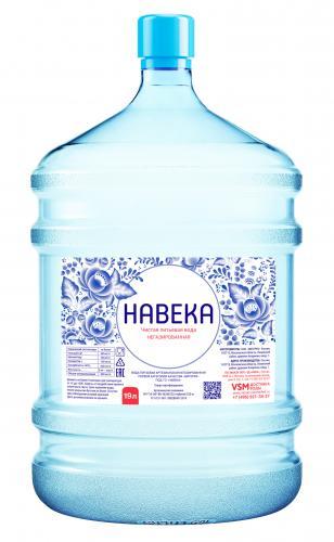 Вода НАВЕКА 10 бутылей  - основное фото
