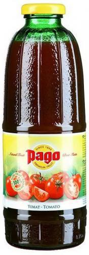 Сок Pago/Паго томат 0.75 л. (6 бут.) - основное фото