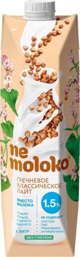Nemoloko гречневый напиток классический лайт 1л. 12шт. - основное фото