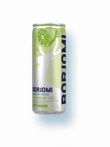 Напиток Borjomi Flavored Water Лайм-Кориандр, 0,33л, 12 шт - основное фото