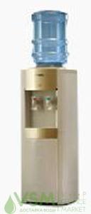 Кулер для воды напольный AEL LC-280B Gold с холодильником 20л. - основное фото