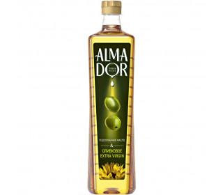 Масло растительное ALMADOR ExtraVirgin подсолнечное +оливковое нерафинированное, 0,79л - основное фото