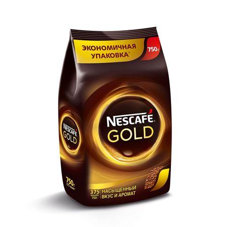 Nescafe Gold растворимый 750 гр. (1шт) - основное фото