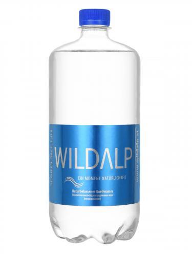 WILDALP Альпийская природная родниковая вода 1 л. (6 шт.) - основное фото