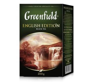 Чай GREENFIELD English Edition, 200 г листовой - основное фото