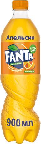 Fanta / Фанта 0,9л. (12 бут.) - основное фото