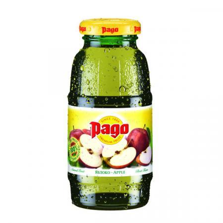 Сок Pago/Паго яблоко 0.2 л. (24 бут.) - основное фото