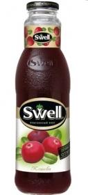 Swell/Свел Клюквенный нектар 0,75л. (6 бут.) - основное фото