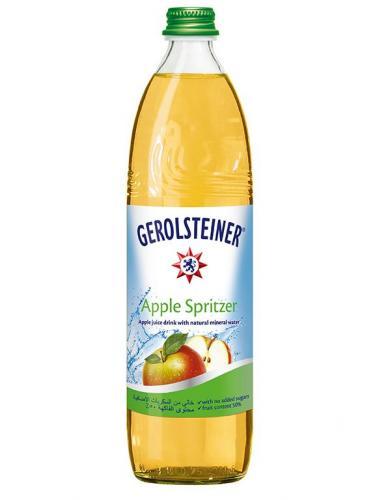 Gerolsteiner Apple Spritzer/Геролштайнер Эппл Шпритцер 0,75 л. (15 бут) - основное фото