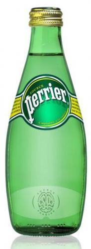 Перье / Perrier 0,33 л. газированная (24 шт.) - основное фото