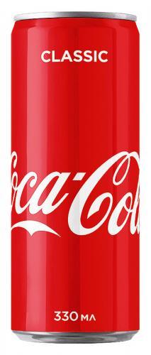 Coca-Сola / Кока-Кола 0,33л. (24 шт) - основное фото