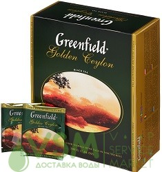 Greenfield Golden Ceylon 100 пак (1 шт) - основное фото