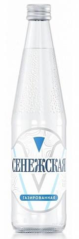 Сенежская 0,5 л. газированная, стекло (12 шт.) - основное фото