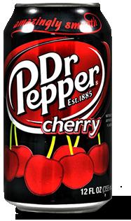 Dr Pepper / Доктор Пеппер Cherry 0,355 л. (12 ж/б) - основное фото