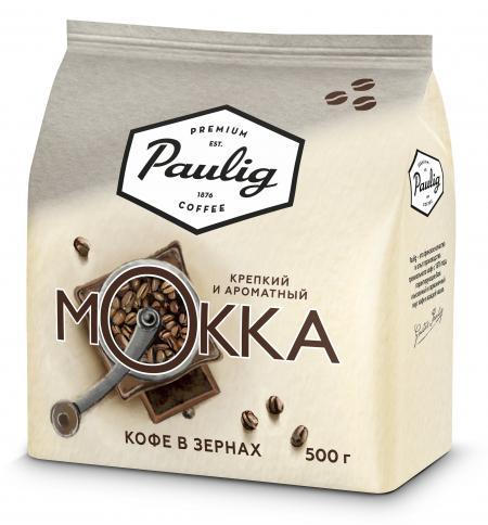 Paulig Mokka в зернах 500гр. в/у (1шт.) - основное фото
