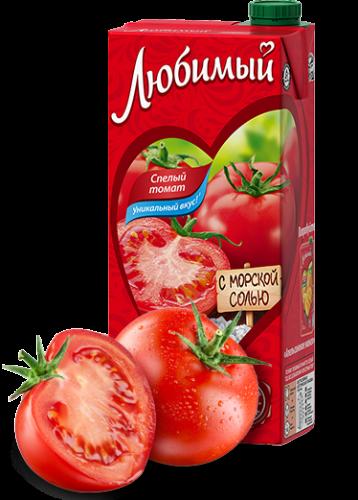 Любимый Спелый томат 1,93 л.  (6 пак.) - основное фото