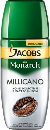 Jacobs Monarch Millicano 190 гр. (1шт) стекло - основное фото