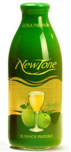Сок NewTone/Ньютон Зелёное яблоко 0,75 (6 шт.) стекло - основное фото