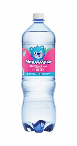 Мика-Мика Природная 1,5л, питьевая вода для детского питания, негазированная,  (6 бут) - основное фото