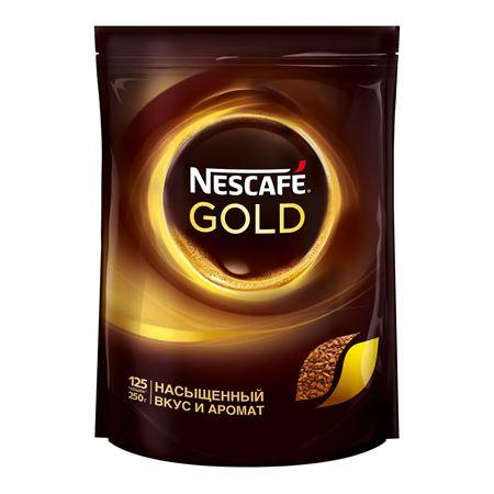 Nescafe Gold растворимый 250 гр м/у (1шт) - основное фото
