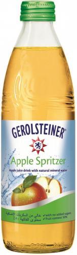 Gerolsteiner Apple Spritzer/Геролштайнер Эппл Шпритцер 0,33 л. (24 бут) стекло - основное фото