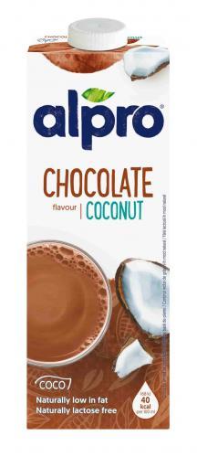Alpro кокосово-шоколадный напиток, 1л. 8шт. - основное фото