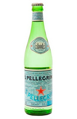 S.Pellegrino / Сан Пеллегрино 0,5л. газированная (24 шт) стекло - основное фото