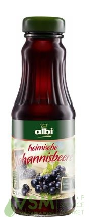 Напиток Albi/Алби Черносмородиновый 0.2л стекло (12шт) - основное фото