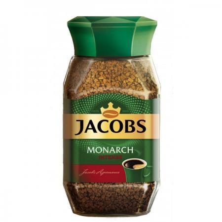 Jacobs Monarch крепкий 95гр (1шт) стекло - основное фото
