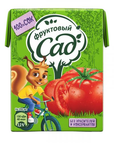 Фруктовый Сад томат 0,2 л. (27 шт.) - основное фото