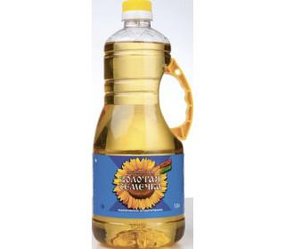 Масло подсолнечное ЗолотаяСемечка рафинированное, 1,8л. - основное фото